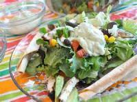 Mexican And Hispanic - Salad -  Chicken Fajita Salad