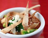 Mexican And Hispanic - Tortilla Soup With Chicken And Lime