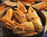 Mexican And Hispanic - Chicken Corn Tamales