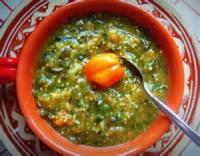 Mexican And Hispanic - Salsa -  Tomatillo And Two Hot Pepper Salsa