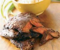 Outdoor_cooking - Barbecued Marinated Flank Steak