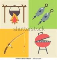 Outdoor_cooking - Camping -  Grilled Fish
