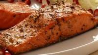 Outdoor_cooking - Seafood -  Barbecued Salmon