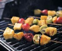 Outdoor_cooking - Fruit -  Grilled Fruit Kebabs