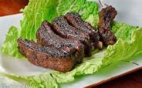 Outdoor_cooking - Pork -  Glazed Pork Ribs
