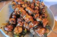 Outdoor_cooking - Grilled Chicken Yakatori