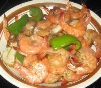 Outdoor_cooking - Seafood -  Shrimp Teriyaki