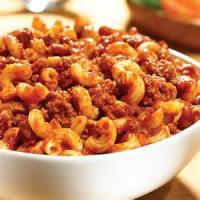 Pasta And Pastasauces - Skillet Macaroni And Beef