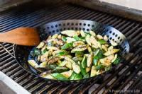 Outdoor_cooking - Grilled Zuccini