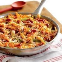 Pasta And Pastasauces - Four Cheese And Sausage Pasta Bake