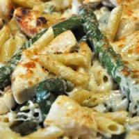 Pasta And Pastasauces - Ziti And Asparagus