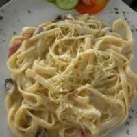 Pasta And Pastasauces - Fettucine Creamy Low Fat Fettuccine Alfredo