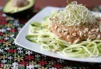 Pasta And Pastasauces - Pasta -  Spaghetti With Courgettes (zucchini)