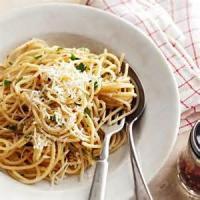 Pasta And Pastasauces - Pasta -  Aglio E Olio