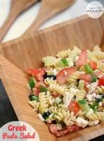 Pasta And Pastasauces - Salad -  Greek Pasta Salad