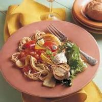 Pasta And Pastasauces - Pasta With Grilled Vegetables