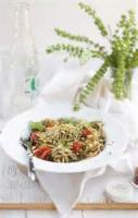 Pasta And Pastasauces - Linguine With Sun-dried Tomato Pesto