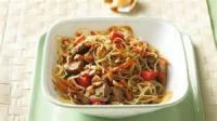Salads And Dressings - Thai Steak Salad With Pasta And Peanut Pepper Dressing
