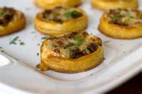 Pastries - Onion Tartlets