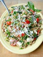 Salads And Dressings - Bean -  5 Bean Salad With Basil Vinaigrette