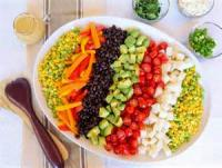 Salads And Dressings - Mexican Salad Buffet