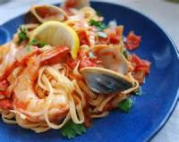 Pasta And Pastasauces - Seafood -  Spicy Shrimp Pasta