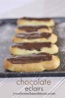 Pastries - Eclairs -  Chocolate Eclairs