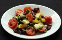 Salads And Dressings - Black Bean And Tomato Salad