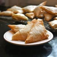 Pastries - Pastry -  Apple Phyllo Triangles