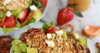 Salads And Dressings - Chicken -  Chicken Salad With Honey Mustard Dressing Recipes By Becky