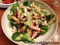Salads And Dressings - Chicken -  Fajita Salad With Creamy Cilantro-lime Sauce