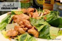 Salads And Dressings - Chicken -  Oriental Chicken Salad