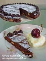 Pastries - Tart -  Chocolate Brownie Tart
