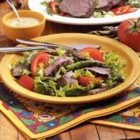 Salads And Dressings - Beef Tenderloins And Greens Dijon