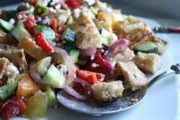 Salads And Dressings - Bread Salad