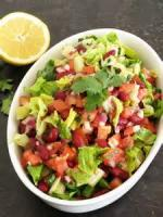 Salads And Dressings - Bean -  Southwest Salad With Cilantro Dressing