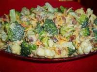Salads And Dressings - Broccoli Cauliflower Salad