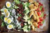 Salads And Dressings - Fried Chicken Cobb Salad