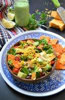 Salads And Dressings - Southwestern Chicken And Pasta Salad
