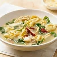 Pasta And Pastasauces - Soup -  Tortellini And Spinach In Broth