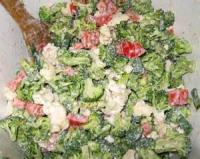 Salads And Dressings - Broccoli Capsicum Salad