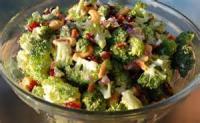 Salads And Dressings - Broccoli -  Cranberry Broccoli Salad