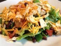 Salads And Dressings - Chicken And Black Bean Salad
