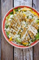 Salads And Dressings - Chicken And Fruit Salad With Mango Vinaigrette