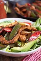 Salads And Dressings - Chicken -  Chicken Fajita Salad