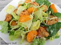 Salads And Dressings - Applebee's Oriental Chicken Salad