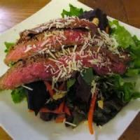 Salads And Dressings - Beef -  Flank Steak Salad With Cantaloupe