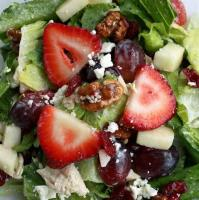 Salads And Dressings - Chicken Fruit Salad
