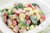 Salads And Dressings - Fruity Cauliflower-broccoli Salad