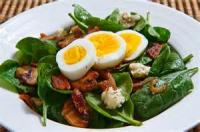 Salads And Dressings - Egg -  Egg Salad With Bacon And Cheese